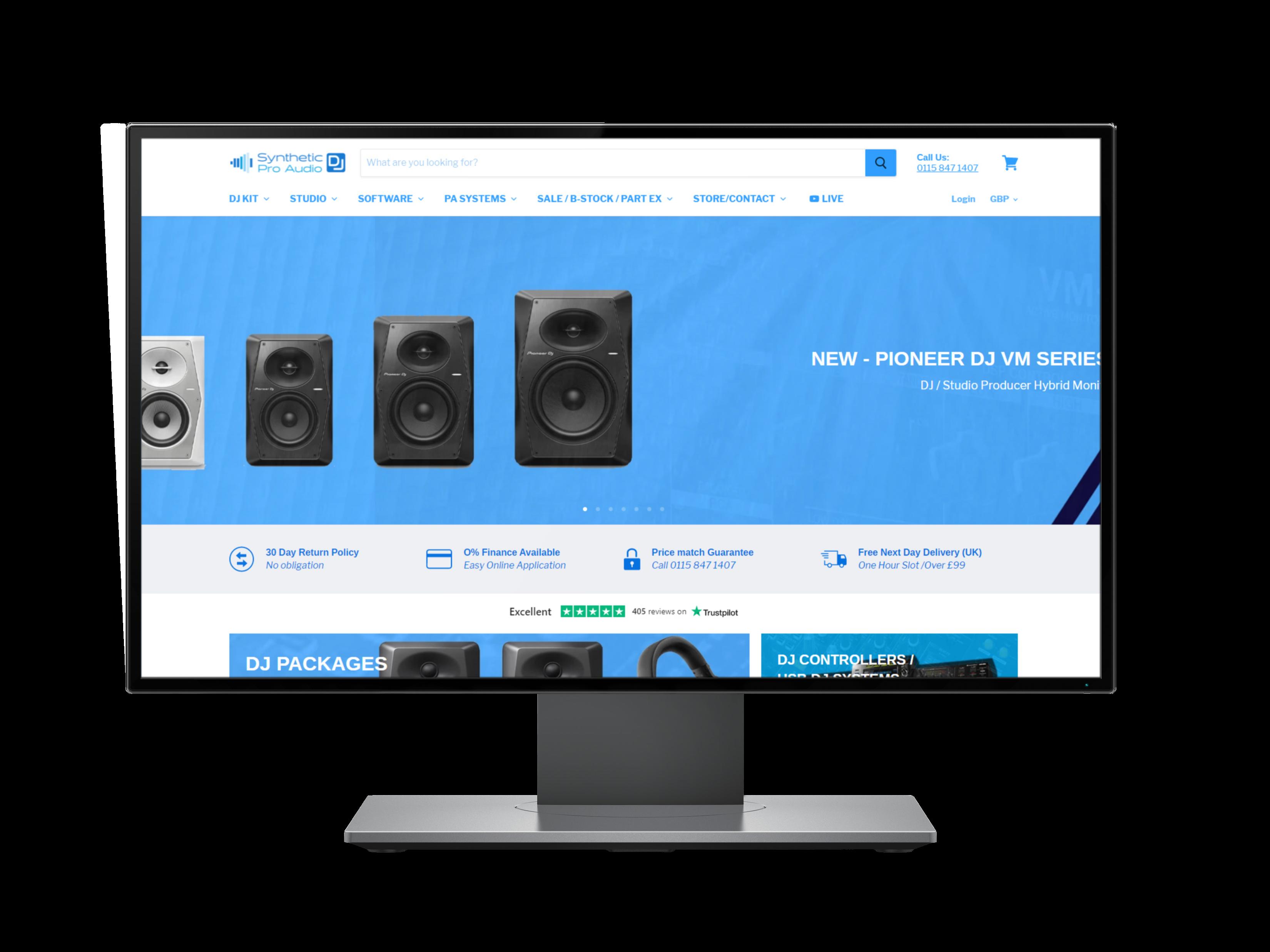 synthetic pro audio social media ad case study